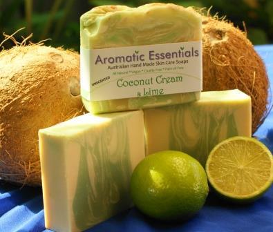 Coconut Cream Soap - Organic, Vegan, Beautiful